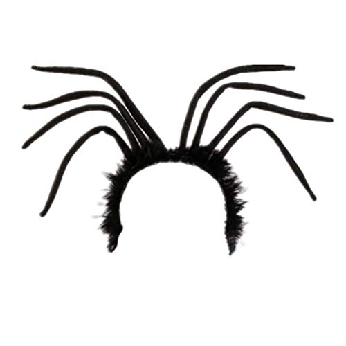 Amosfun Halloween Headband Spider Head Piece Hair