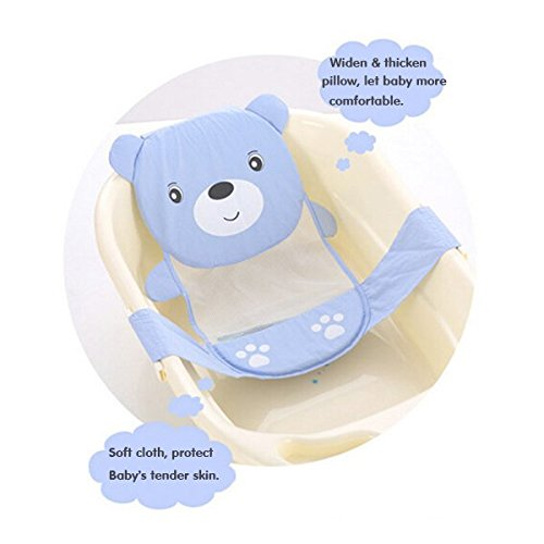 Adjustable Baby Newborn Safety Security Bath Shower Seat Anti-skip Support Cross