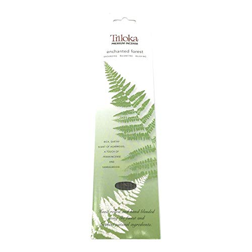 Triloka Enchanted Forest Premium Incense, 10 CT