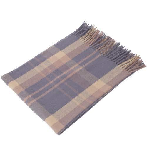 aca51202f HITSAN INCORPORATION Cashmere Scarf Winter Shawl Women Stylish Check Plaid  Autumn Wrap Wool Fine Brushed Long