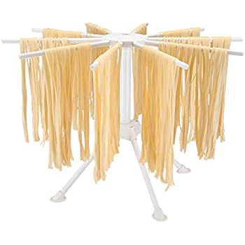 Amazon.com: Vonshef – Plegable Pasta & Spaghetti Drying Rack ...