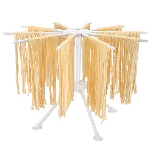 Hin Plus Pasta Drying Rack Collapsible (White)