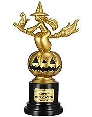 Tomaibaby Pompoen Trofeeën Halloween Heks Pompoen Trofee Awards Plastic Trofee Halloween Cosplay Kostuum Wedstrijd Trofee Awards Prime