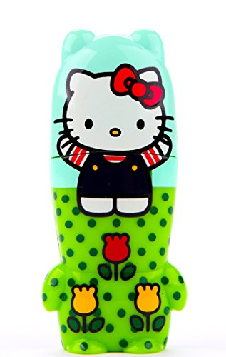 16GB Hello Kitty Fun In Fields Sanrio x MIMOBOT Designer USB Flash Drive with bonus preloaded Mimory content, Limited Edition by Mimoco