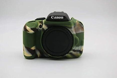 Funda de Silicona Carcasa de Silicona para cámara Canon EOS 700D ...