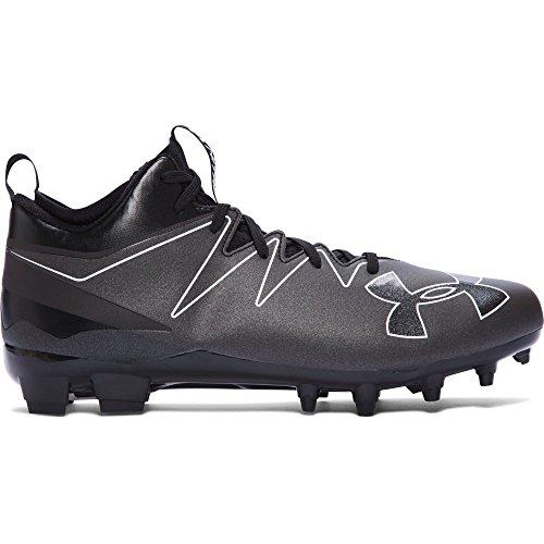 Under Armour Men's UA Nitro Mid MC Black/White Sneaker 11 D (M)