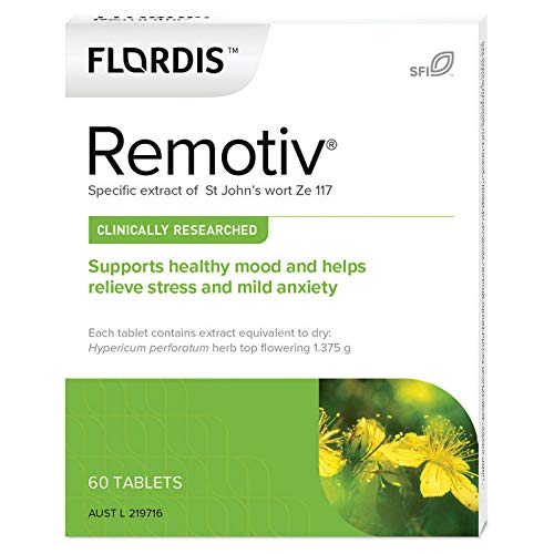 Flordis Remotiv for Stress Relief (St John's Wort) 60 Tablets