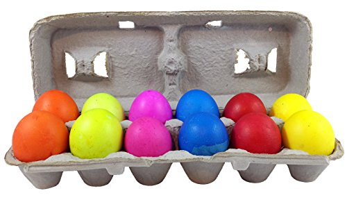 Confetti-filled Eggs in Assorted Colors Made From Real Eggshells (Cascarones) - Bright Colorful Easter Eggs