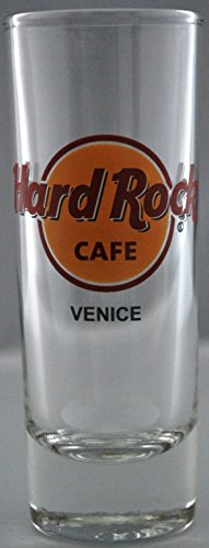 "NEW Hard Rock Cafe VENICE ITALY 4"" LOGO SHOT GLASS in HRC Box"