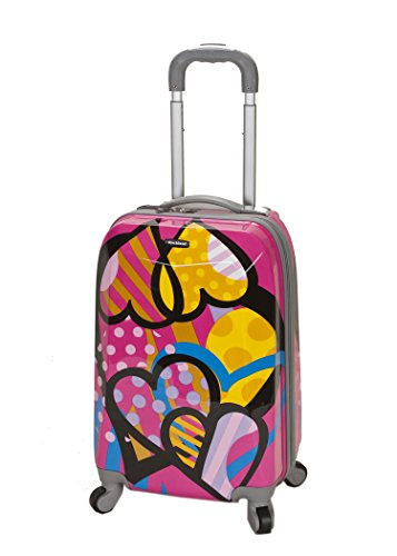 rockland-luggage-20-inch-polycarbonate-carry-on-luggage-love-one-size