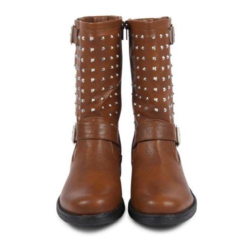 Footwear Sensation - Botas mujer marrón