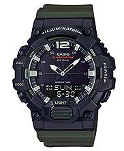 Casio Reloj Digital para Hombre de Cuarzo con Correa en Resina HDC-700-3AVEF