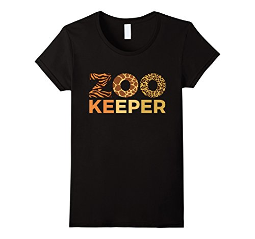 Womens Womens Zoo Keeper Shirt Gift Animal Lover T Shirts Girls XL Black - Zoo Keeper Costume For Womens
