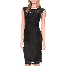 Stanzino Cocktail Dress   Women's Sleeveless Lace Dresses for Special Occasions