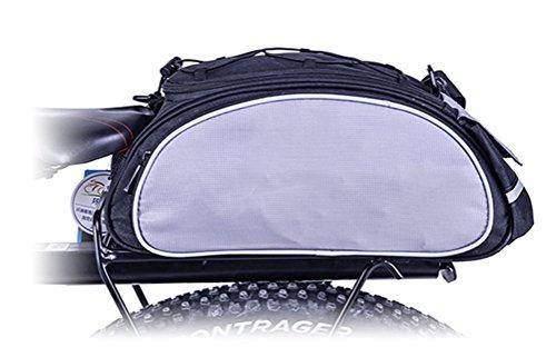 BlueTop Bicycle Rear Seat Trunk Bag Shoulder Bag Handbag Outdoor Travel