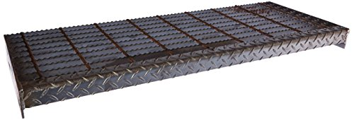 - 21188R125-TRD5 Carbon Steel Serrated Surface Stair Tread Bar Grating, 36