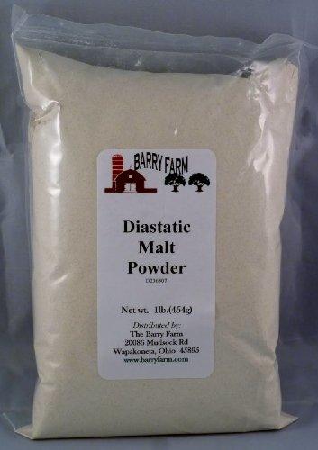 Diastatic Malt Powder, 1 lb. by Barry Farm (Malt Powder)