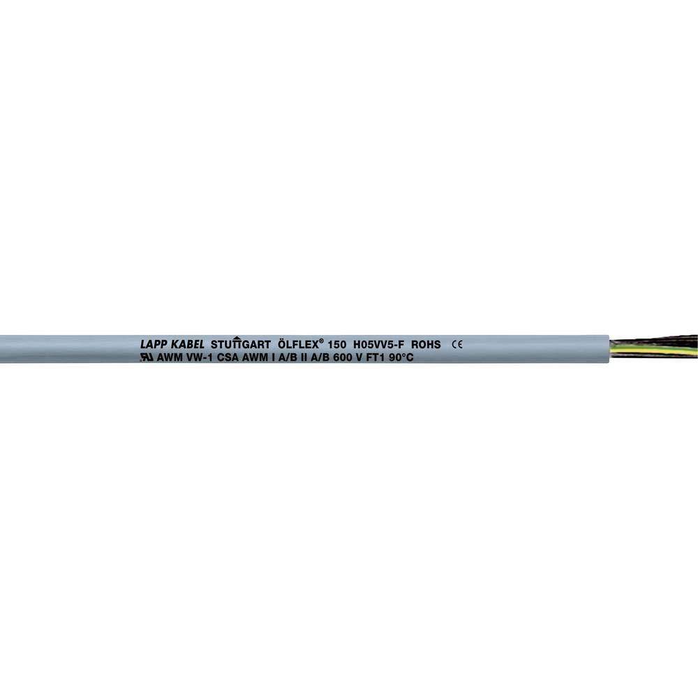 Ol 150 H05Vv5-F 12X1.0 18//12C Cable LAPP 15212 70FT