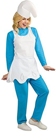 Rubie's Women's Smurfette Adult Costume, Smurfs: the Lost Village, -