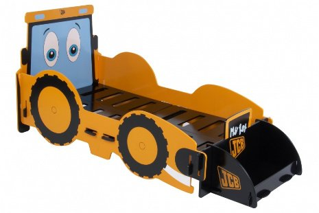 Kinderbett baggerbett  KIDSAW JIGSAW MY 1ST JCB DIGGER TODDLER BED FROM CENTURION PINE ...