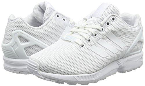 Basses Adidas Zx ftwr ftwr clear Ivoire Adulte Mixte Baskets Flux White Grey White qttOr