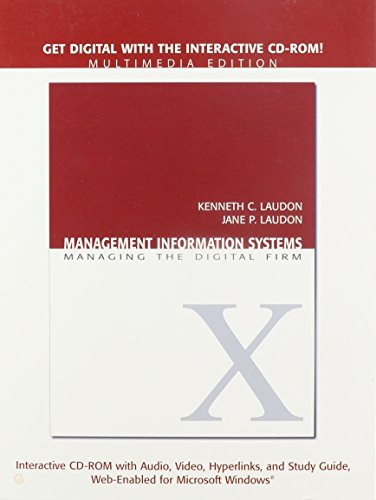 Management Information Systems Multimedia Edition: Managing the Digital Firm by Brand: Pearson Prentice Hall