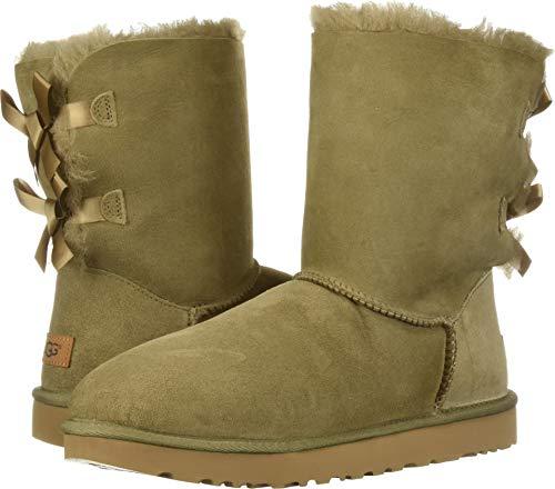 UGG Women's W Bailey Bow II Fashion Boot Antilope 8 M -