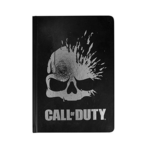Paladone Call Of Duty Officially Licensed Skull   Lined Hardcover Notebook 100 Pages