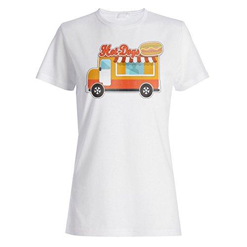 Neue Lebensmittel Van Donuts Lustig Damen T-shirt l926f