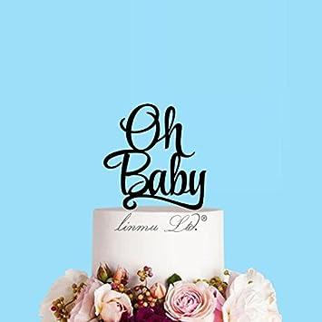 Michell63bentham Personnalisé Oh Bébé Gâteau élégant Baby Shower