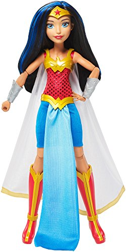 Mattel DC Super Hero Girls Premium Wonder Woman Action Doll, -