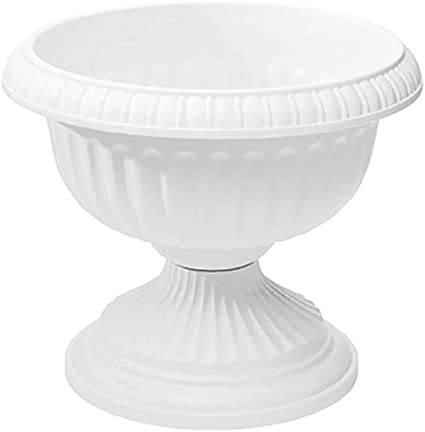 Pack Of 6 Urn Grecian Wht 20