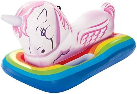 Amazon.com: Intex Pegasus mystical Unicorn Ride-On piscina ...