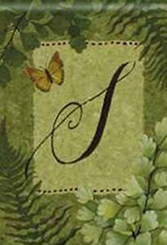 Natures Monogram - Nature's Script Monogram S House Flag