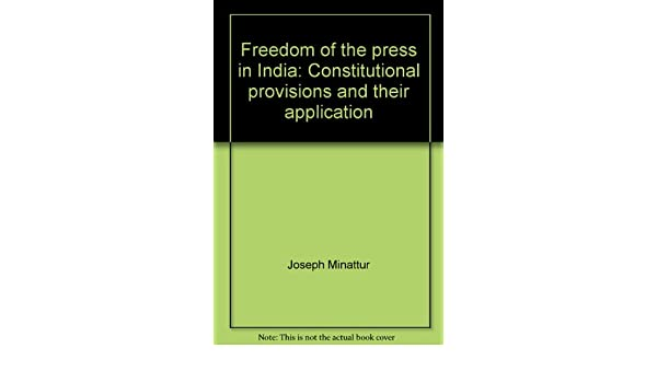Constitutional Provisions and Their Application