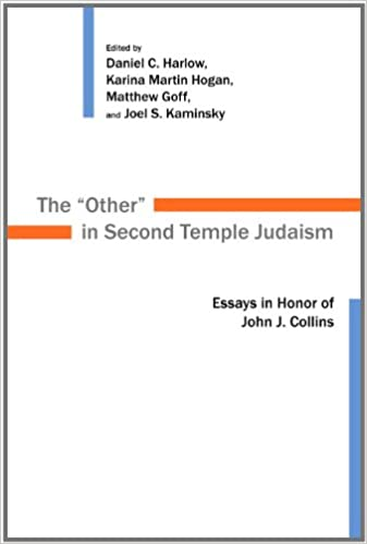 the other in second temple judaism essays in honor of john j the other in second temple judaism essays in honor of john j collins calvin institute of christian worship liturgical studies daniel c harlow