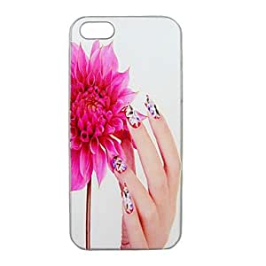 LZX Charming Relief Portrait Case for iPhone5