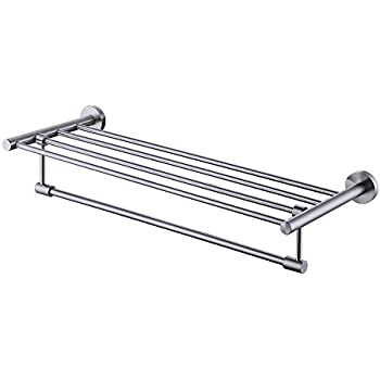 kes sus 304 bathroom shelves towel rack with towel bar bath storage hanging