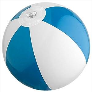 3 x mini Wasserball / Strandball für Kinder - BLAU - Urlaub Strand Spiel...