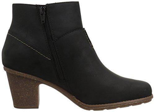Boot Black Leather Women's Ankle Clarks Vita Sashlin xqw81pPZI