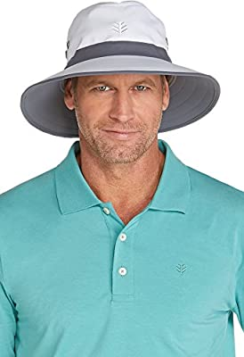 Coolibar UPF 50+ Men's Matchplay Golf Hat - Sun Protective