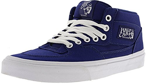 Bestelwagen Heren Half Cab Canvas Lage Top Vetersluiting Fashion Sneakers Blauw