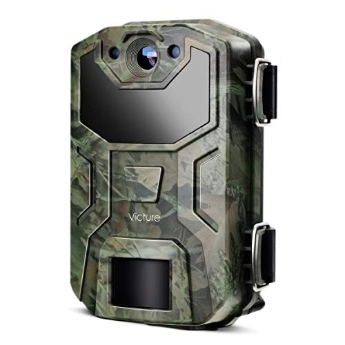 Victure Trail Camera 16MP 1080 HD 2.0 inch LCD Game Cam Night Vision Motion Activated with Upgrade Waterproof Design 38Pcs IR LEDs No Glow for Wildlife Hunting and Surveillance