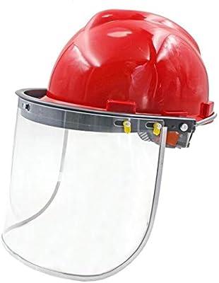 LXFBX Cascos de Trabajo Casco de Seguridad de Trabajo máscara de ...