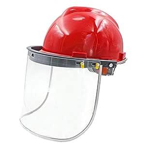 Casco de Seguridad Casco de Seguridad de Trabajo máscara de ...