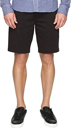 Dockers Men's Classic Fit Perfect Short D3 Stretch, Black Twill (Stretch), 34W by Dockers