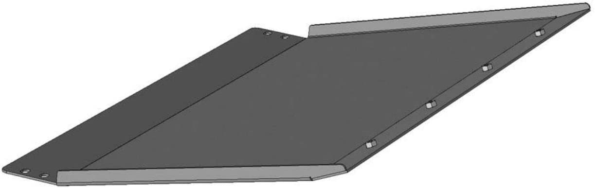 Black Horse Off Road Skid Plate ONLY for Armour Heavy Duty Front Bumper for 2018-2020 Ford F-150 AFB-F118-SK Black