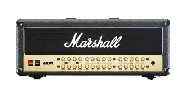 Amplificador guitarra marshall cabezal jvm 100w 4 joe satriani signature blue: Amazon.es: Instrumentos musicales