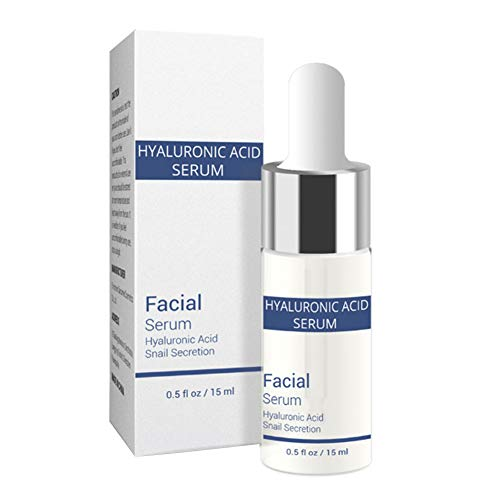 Hyaluronic Acid Serum, Snail Serum, Snail Repair Serum, Snail Repair Essence, Vitamin C Hyaluronic Acid Serum, Anti-Aging Hydration Moisturizer Facial Serum, More Youthful-Looking Skin