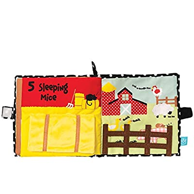 Manhattan Toy Farmyard Friends Soft Activity Book: Toys & Games